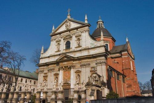 Znalezione obrazy dla zapytania kościół św. piotra i pawła kraków